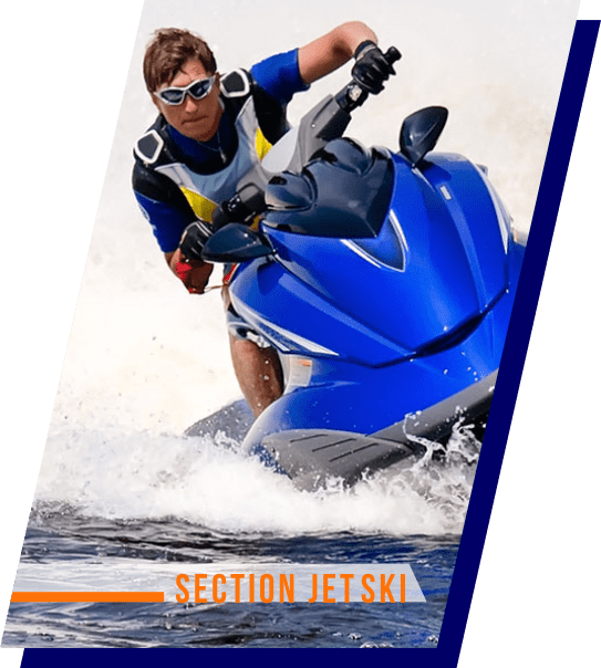 Visitez la section jet ski